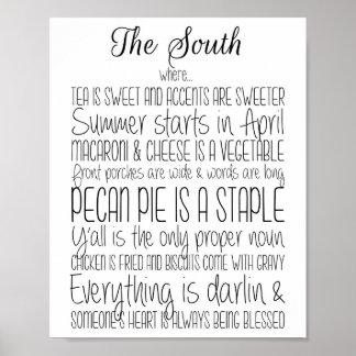 Der Süddruck Poster