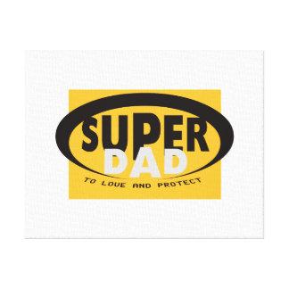 Der Supervati Leinwanddruck