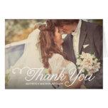 Der süßeste Tag Wedding | danken Ihnen Gruß-Karte