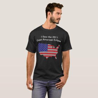 Der T - Shirt 2017 amerikanischer Eklipsemänner