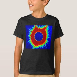 Der T - Shirt 2017 Eklipse-Kinder, Neon-Reihen