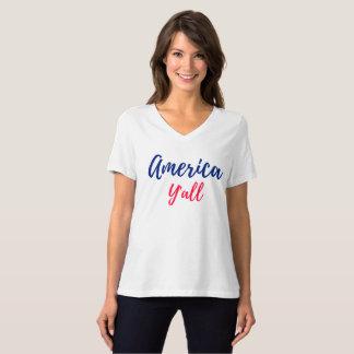 Der T - Shirt Amerikasie Frauen