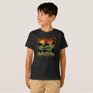 Der T - Shirt Barcelona-Jungen