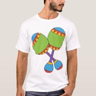 Der T - Shirt bunter Maracas Männer