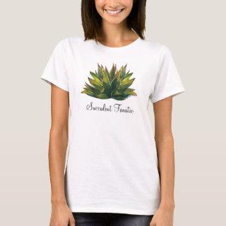Der T - Shirt der Agave Watercolor-Damen