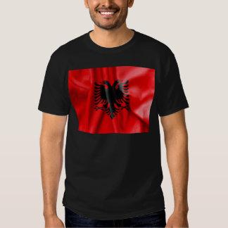 Der T - Shirt der Albanien-Flaggen-Männer