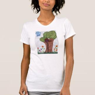 Der T - Shirt der Baum-Haus-Frauen