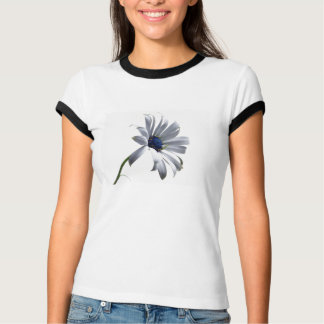 Der T - Shirt der blauen Blumen-Frauen
