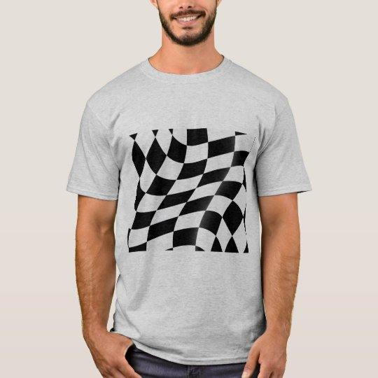 Der T - Shirt der Checkered