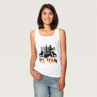 Der T - Shirt der ChicagoCityscape Chi-Stadtfrauen