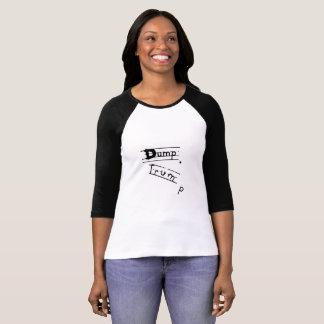 Der T - Shirt der Dump-Trumpf-Frauen