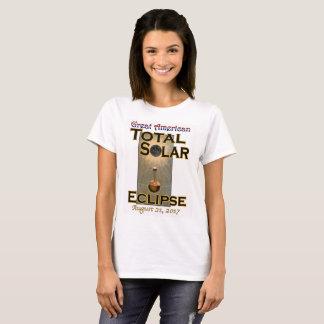 Der T - Shirt der Eklipse-Frauen