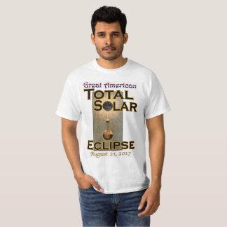 Der T - Shirt der Eklipse-Männer