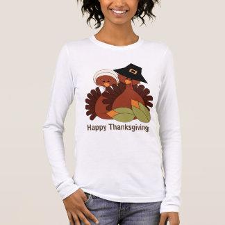 Der T - Shirt der Erntedanktruthahn