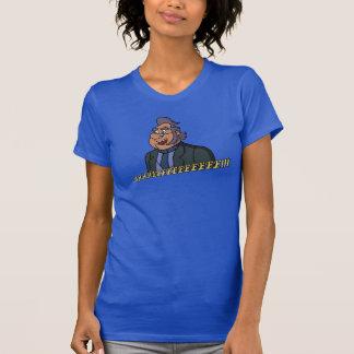 Der T - Shirt der Frauen der alter Mann-Art-2