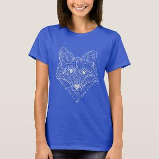 Der T - Shirt der Frauen des weißen Fuchses