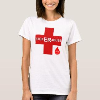 Der T - Shirt der Frauen klein