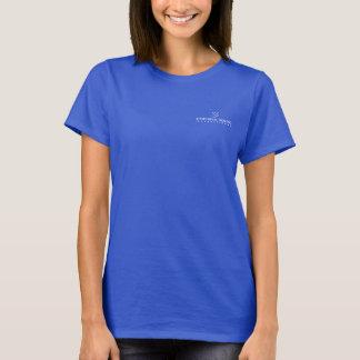 Der T - Shirt der Frauen - kleines weißes Logo