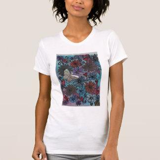 Der T - Shirt der Frühlings-Blumen-Frauen