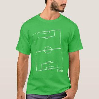 Der T - Shirt der Fußball-Neigungs-Männer (Grün)