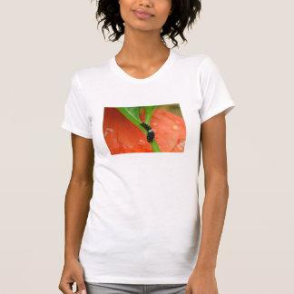 Der T - Shirt der Garten-Besucher-Raupen-Frauen