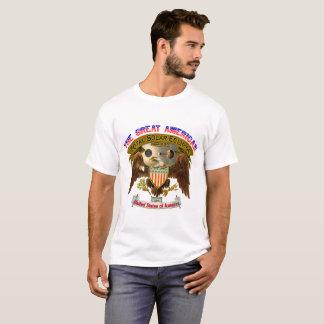 Der T - Shirt der großen amerikanischen