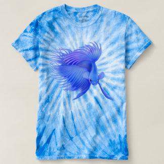 Der T - Shirt der großen blauen Betta