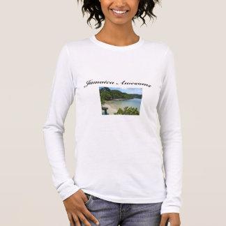 Der T - Shirt der Jamaika-Strand-Zitat-Frauen