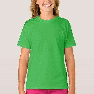 Der T - Shirt der Kleeblatt-grünen Mädchen