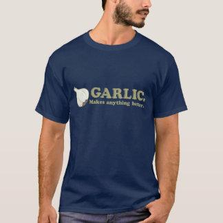 Der T - Shirt der lustigen Knoblauch-Männer