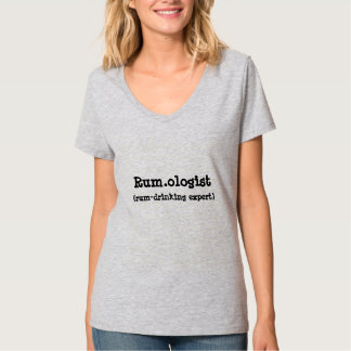 Der T - Shirt der lustigen Rum.ologist