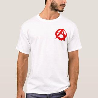 Der T - Shirt der Männer des Anarchisten (kleines
