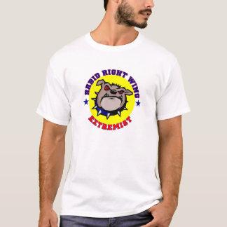 Der T - Shirt der Männer - rasender rechter