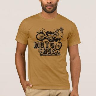 Der T - Shirt der Motocross-Männer
