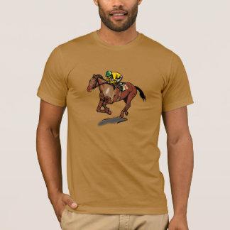 Der T - Shirt der Pferdelaufenden Männer
