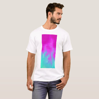 Der T - Shirt der Pixel-Wellen-Männer