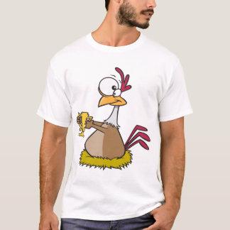 Der T - Shirt der Prize Huhn-Männer
