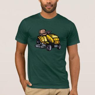 Der T - Shirt der Reitrasenmäher-Männer