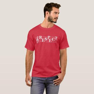 """Der T - Shirt """"der Respekt-"""""""