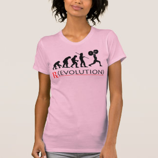 Der T - Shirt der Rx Evolutions-Diagramm-Frauen