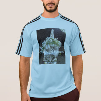 Der T - Shirt der silbernen Fingerstrongman-Männer