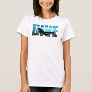 Der T - Shirt der TAUCHEN Sporttauchen-Frauen