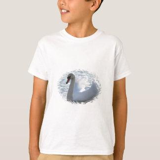 Der T - Shirt der Trompete-Schwan-Kinder