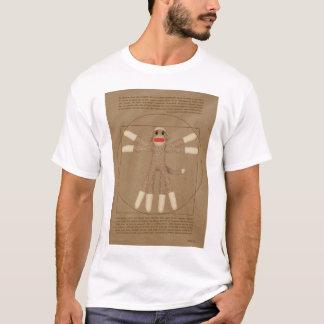 Der T - Shirt der Vitruvian Affe-Männer