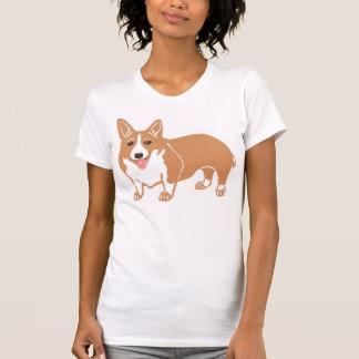 Der T - Shirt der Walisercorgi-Frauen