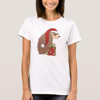 Der T - Shirt der WeihnachtsIgels-Feiertagsfrauen