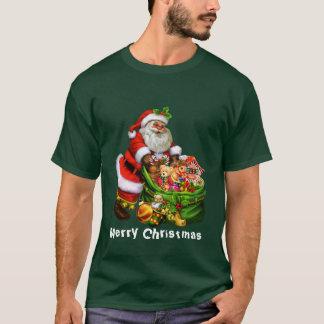 Der T - Shirt der Weihnachtssankt-Feiertagsmänner