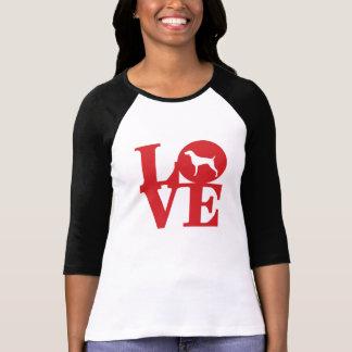 Der T - Shirt der Weim Liebe-Frau