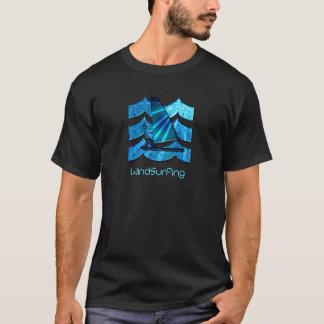 Der T - Shirt der Windsurfing Männer