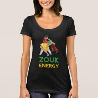 Der T - Shirt der Zouk Energie-Frauen